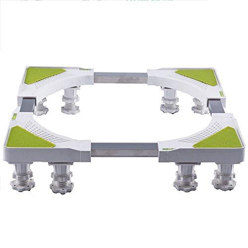 Multifunktionsbasis Waschmaschine Rack Waschmaschine Halterung Regal Höhe Mobile Trockner Und Kühlschrank 8 Beine