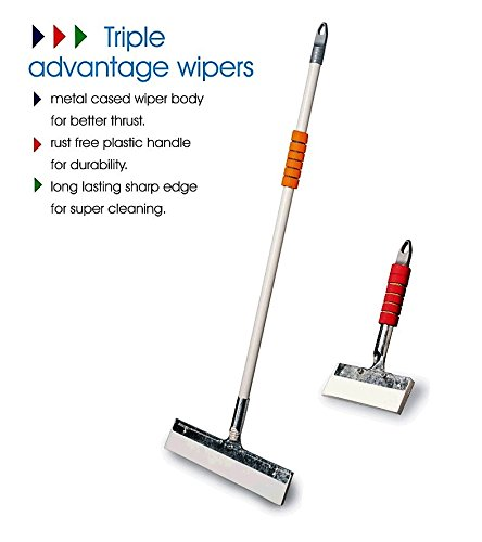 Vimal Ecowipe 300 Bathroom Floor Wiper & Nirali Kitchen Floor Wiper Combo Set  available at amazon for Rs.395