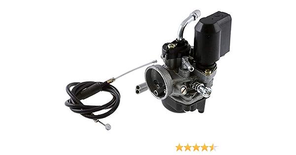 2extreme 17 5mm Vergaser Mit E Choke Kompatibel Für Aprilia Mojito Custom Rally 50 Ac Lc Sr50 Auto