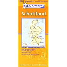 Schottland (Michelin Regionalkarte)