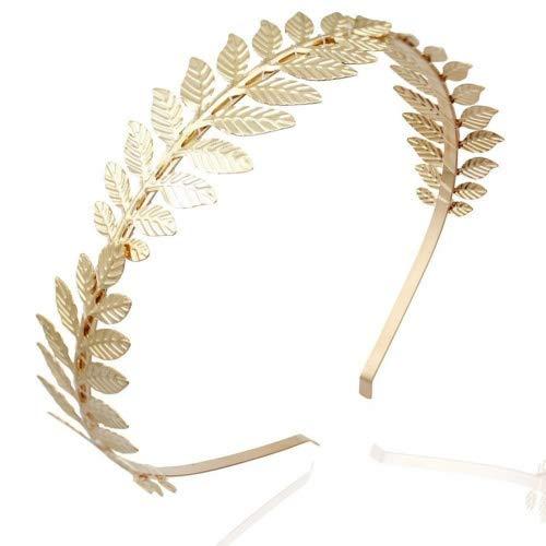 LUOEM Capelli da sposa corona dea capelli Band archetto Tiara