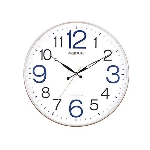 WF Leuchtend Wanduhr Quarz-Uhrwerk Nachleuchtenden Ziffern Und Zeigern Aluminium Kunststoff Kreative Modernes Design Schlicht Durchmesser 50CM Wohnzimmer Schlafzimmer Office