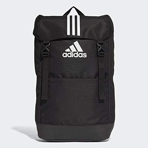 adidas Erwachsene 3 Stripes Rucksack, Black/White/White, 46 cm