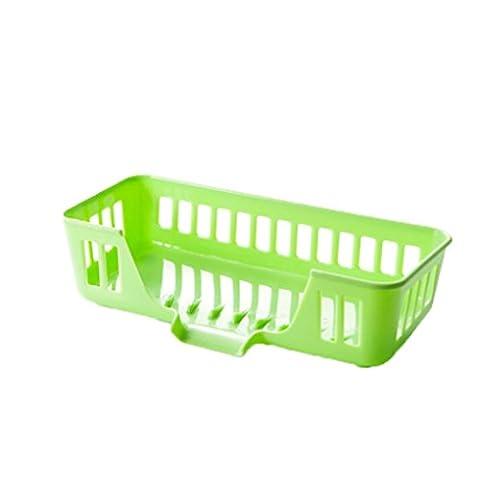 taottao Küche Multifunktional Spüle Aufbewahrungskorb Creative Geschirrspülen Schwamm Ablauf Regal Schrank grün