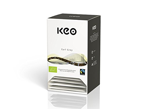 Keo Tee – EARL GREY – Bio & Fairtrade 20 Pyramidenbeutel DE-ÖKO-006