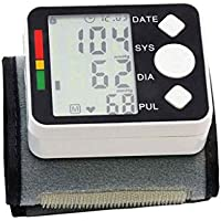 XUEYAYI Monitor de presión Arterial de muñeca, Monitoreo de presión Arterial de Brazo Superior con