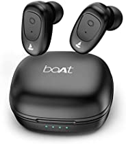 boAt Airdopes 201 True Wireless Earbuds with BT v5.0, IPX 4 Sweat and Water Resistance, in-Built Mic with Voic
