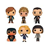 FunKo 11413-px-ast – Fantastic Beasts and Where to Find Them, Pop Vinyl Figure 6-Pack Newt, Seraphina, Percival, niffler, Queenie, Tina