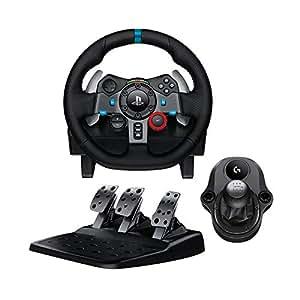 logitech g29 volant de course p dalier pour ps3 et ps4 levier de vitesse driving force. Black Bedroom Furniture Sets. Home Design Ideas