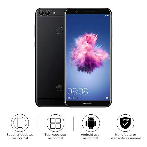 Huawei P Smart (Single SIM) 32GB Android 8 0 UK version SIM-Free Smartphone  - Black