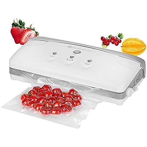 NEXGADGET Envasadora Selladora al Vacío Automática o A Mano 3 Modos de Sellado Conservación Fresco Protección con Bolsas para Comida Seca O Húmeda, Vino, Joyería, Carne, Medicina, Té,