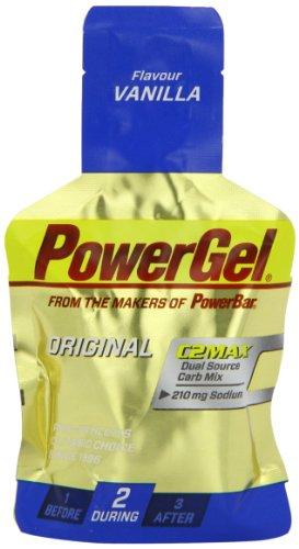 PowerBar Sporternährung - PowerGel Vanille, Trinkbeutel 24 Stück à 41g (984g)