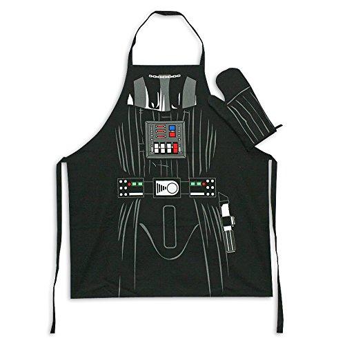 Star Wars Koch- & Grillschürze mit Ofenhandschuh Darth Vader für Erwachsene