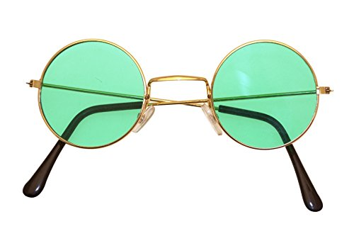 John Lennon Style Green (Lennon Kostüm John Sonnenbrille)