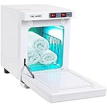 2 en 1 Caliente Esterilizador de toalla 5L UV Toalla calentador Esterilizador Gabinete Spa Herramienta Cabello