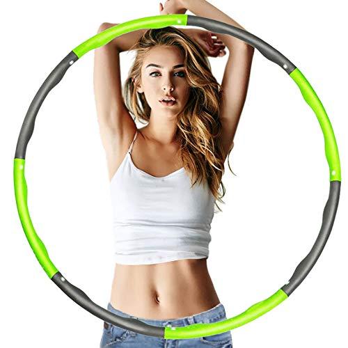 Professionelle Fitness Hula Hoop Abnehmbare Dünne Taille Fitnessgeräte Weiche Polsterung Leicht zu Schleudern Für Fitness Shaping 37,4 ''