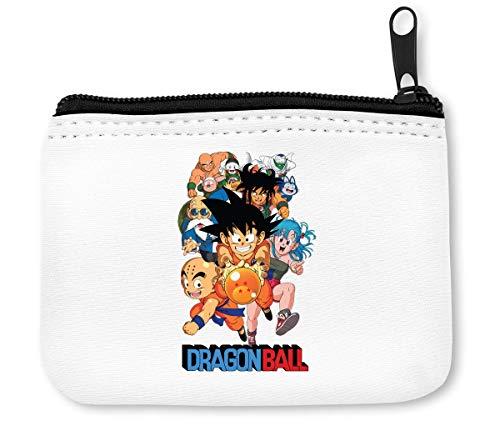 Dragon Ball Heroes Monedero de cremallera para monedas