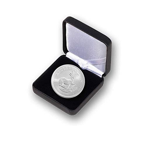 Silbermünze Krügerrand - 1 Unze Silbermünze Rand Refinery Südafrica (1 Stück 2019 im Etui) -
