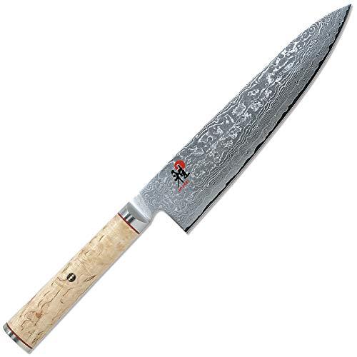 """Zwilling - Coltello da cucina""""Gyutoh"""", lunghezza lama: 20 cm, design lama: damascato"""
