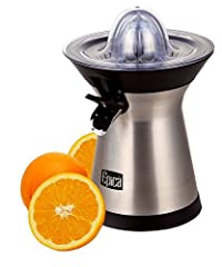 Epica Powerful Stainless Steel Whisper-quiet Citrus Juicer-70 Watt motor
