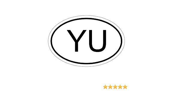 Kiwistar Jugoslawien Yu 10 X 6 6 Cm Autoaufkleber Sticker Aufkleber Kfz Flagge Auto