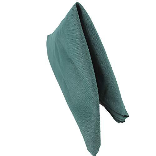 Hunter Green Teller (Trimmen Shop Baumwolle Polyester Servietten für Hochzeit Geburtstag Party Bankette rezeptionen Luxus Gala Events-50,8x 50,8cm (50x 50cm) von, Hunter Green, 100)