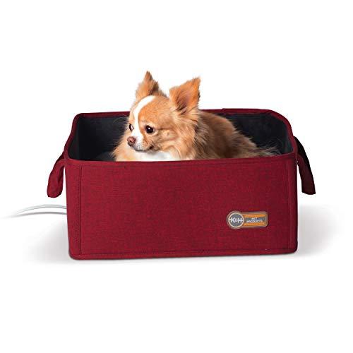 K&H Pet Products Thermo-Katzenbett, für den Innenbereich, zusammenklappbar, 38,1 x 38,1 cm, 4 W, Small (15