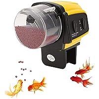 Alimentador automático de los Pescados para el Acuario casero del Contador de Tiempo Eléctrico de la pecera del Acuario, Manual/Auto