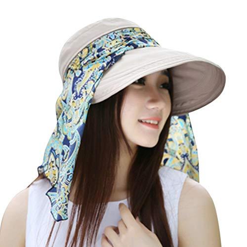 YPORE Women Ladies Holiday Visor Hat Summer Sun Beach Foldable Roll Up Wide Brim Cap Summer Hat for Women Straw Hat Chapeu Feminino