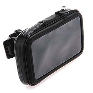 Housse Etui Sac Sacoche Zip Support Vélo Moto Guidon pour Mobile iPhone 4 4S