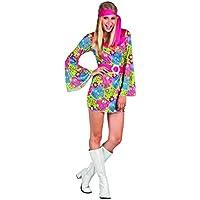 low priced b1e6b b0038 Vestito Hippie - Donna / Adulti / Costumi: Giochi e ... - Amazon.it