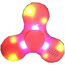 Kadcope Fidget Jouets doigt main jouet mine d'or pour les enfants et les adultes jouets Geschenkemit LED interrupteurs et MINI Bluetooth