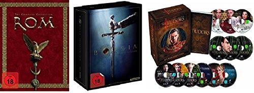 Rom 1-2 Box + Borgia 1-3 Box + Tudors 1-4 Box