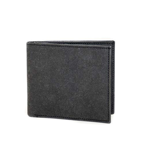 FRITZVOLD ® Geldbeutel Männer mit RFID Schutz in schwarz Herren Portemonnaie groß Brieftasche im Querformat Herrengeldbeutel Herrenbörse Herrengeldbörse Portmonee Geschenk Wallet