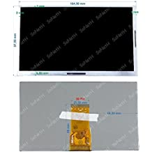 "LCD Display 7,0"" Clempad Plus 4.4 13695-13696 TABLET 6-12 anni"