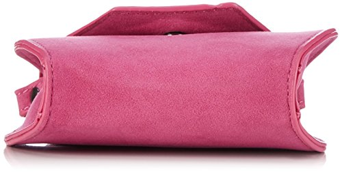 Edelherz - Edelweiß Umhängetasche 2, Borsa A Tracolla da donna Rosa (rot)