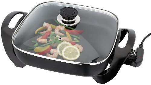 Judge Non-Stick Electric Skillet, Black, 1500 W