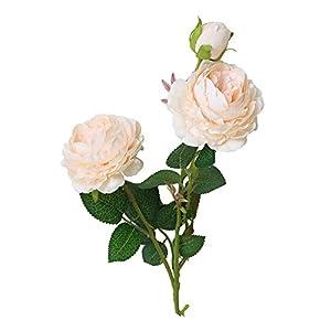 Hniunew Möbel ÜBergroßE Boutique Rose Schmuck Dekoration Blume Rosen Blumenstrauß Handgemachte Seide Home Bridal Party Hochzeitsdekor Wohnaccessoires & Deko KüNstliche Seide Kunstblumen Braut