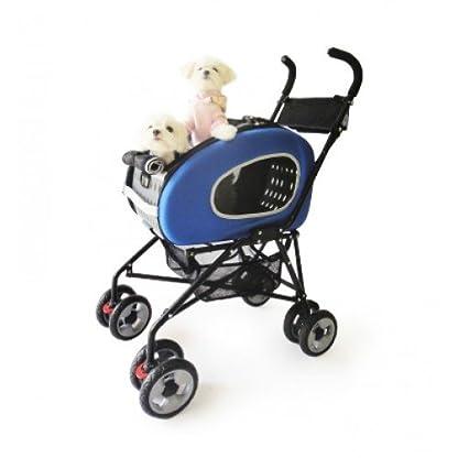 Pet Stroller,IPS-020/Blue, dog carrier, trolley, Trailer, Innopet, 5-in-1 Pet Buggy.Foldable pet buggy, pushchair, pram… 2