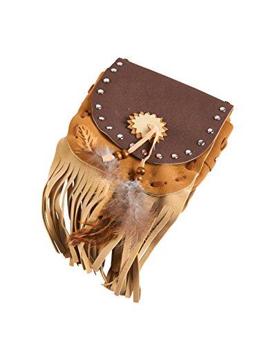 Tasche Indianer braun keine Größe