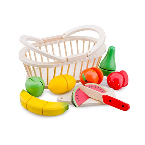 New Classic Toys - Schneide-Set - Obstkorb