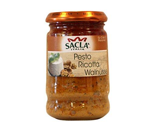 Saclà Pesto Ricotta & Walnüsse, 190 g