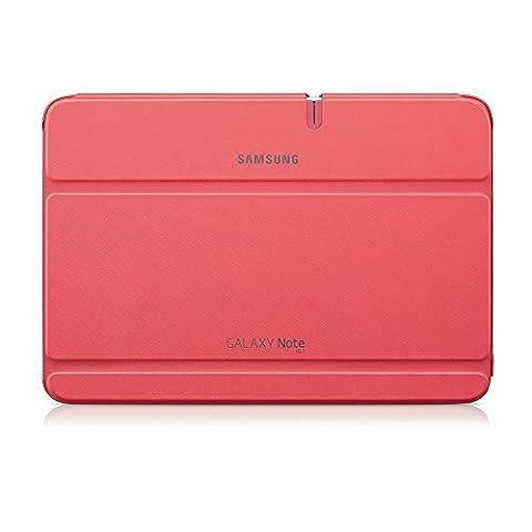Samsung Original Diarytasche (Flipcover) im Buchdesign EFC-1G2NPECSTD (kompatibel mit Galaxy Note 10.1- Nicht mit 2014 Edition) in berry
