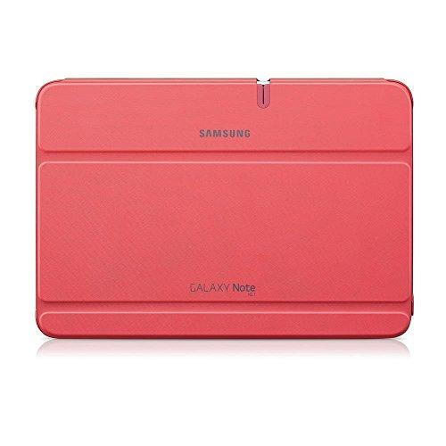 Samsung Original Diarytasche (Flipcover) im Buchdesign EFC-1G2NPECSTD (kompatibel mit Galaxy Note 10.1- Nicht mit 2014 Edition) in berry pink - Tablet Samsung 2012