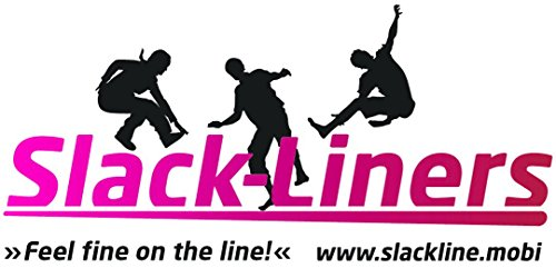 Slack-Liners Set, 25 m lang, 5 cm breit + Baumschutz - 2