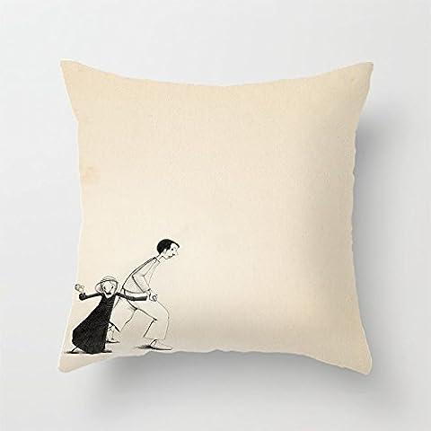 yinggouen Take away decorate per un divano federa Cuscino 45x 45cm - Bunny Casa Decorativa Flag