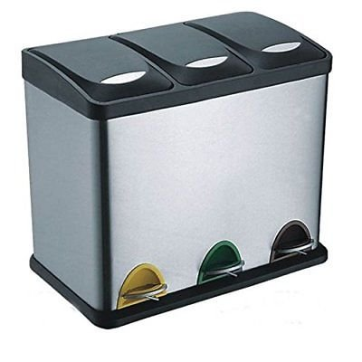 Evre-Recycling-Bin-with-Lids-for-Kitchen-60-Litre-Capacity-3-Compartments-Waste-SeparationColour-Coded