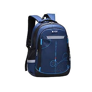 41XqsqhH9gL. SS300  - YSX-backpack Mochilas para niños. Carga Ligera. Mochila pequeña para Exteriores. Adecuada para Estudiantes de Primaria y Secundaria,Rosered