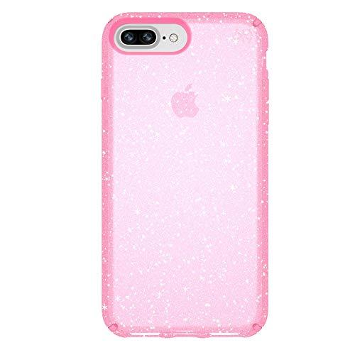 + Glitter Schutzhülle für iPhone 6/6s/7/8 Plus - Pink/Goldglitzer ()