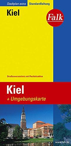 Falk Stadtplan Extra Standardfaltung Kiel